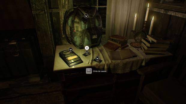Cinta de casete 1 Resident Evil 7