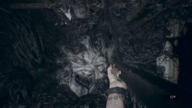 Resident Evil 7 Jefe final Primera Fase 1