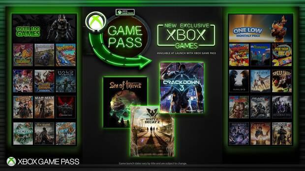 Los juegos exclusivos de Xbox One llegarán a Xbox Game Pass en su lanzamiento Imagen 2