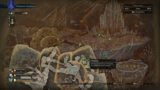 Busca siempre algún acompañante - Monster Hunter World