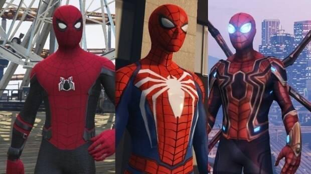 Spider-Man se desliza por las calles de Los Santos en este mod para GTA V Imagen 2