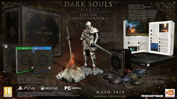 Así es la edición coleccionista de Dark Souls Trilogy de 500 euros Imagen 2