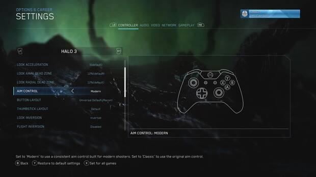 Halo: The Master Chief Collection estrena una nueva opción de apuntado Imagen 2