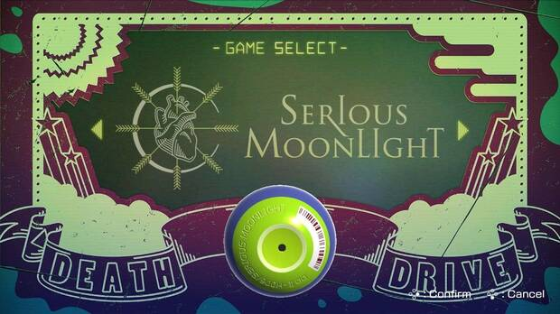 Minijuego Serious Moonlight - Travis Strikes Again: No More Heroes