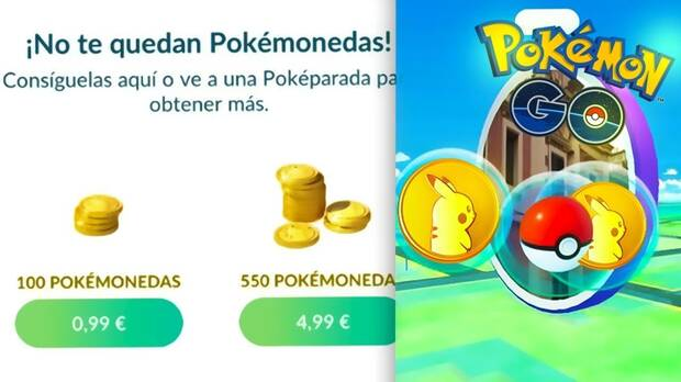 Pokémonedas Pokémon Go