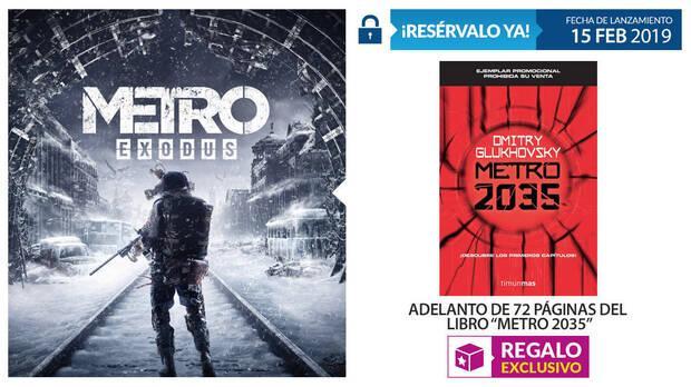GAME detalla sus incentivos por la reserva de Metro Exodus Imagen 2