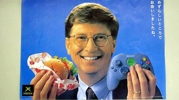 Xbox anuncio Bill Gates Jap