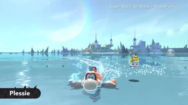 Super Mario 3D World Switch sea of claws