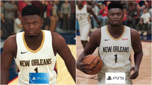 Williamson dans NBA 2K21 pour PS4 et PS5
