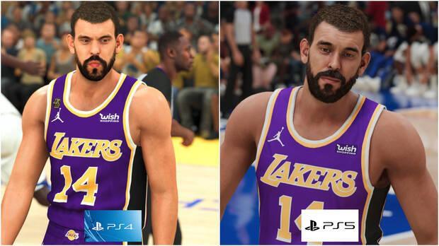 Marc Gasol dans NBA 2K21 pour PS4 et PS5