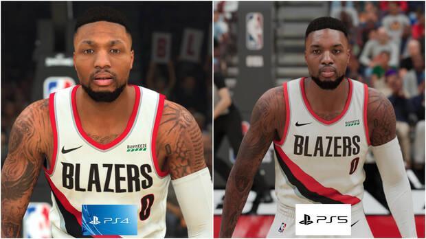 Blazers star Lillard dans NBA 2K21