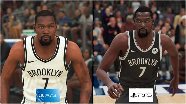 Image de Durant dans NBA 2K21