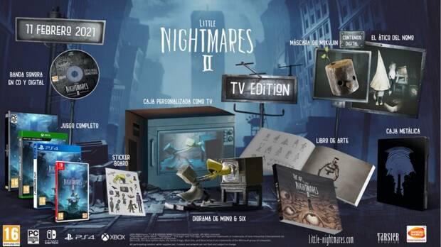 Little Nightmares 2 TV Edition Tu Tienda de Videojuegos