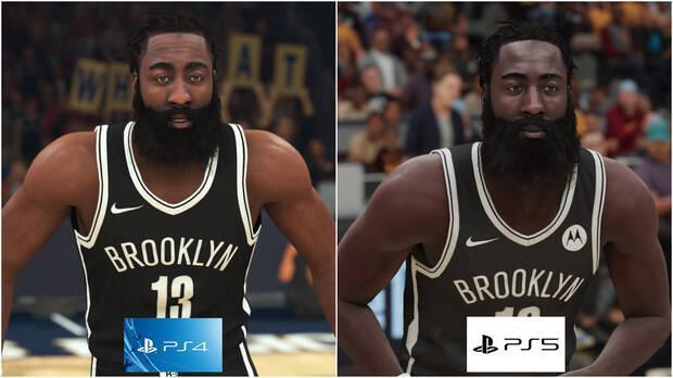 Durcir sur les filets en NBA 2K21