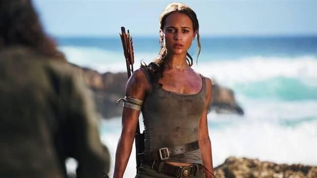 Alicia Vikander dans Tomb Raider 2