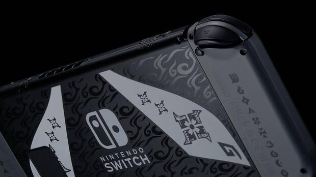 Monster Hunter Rise Nintendo Switch Console Limited