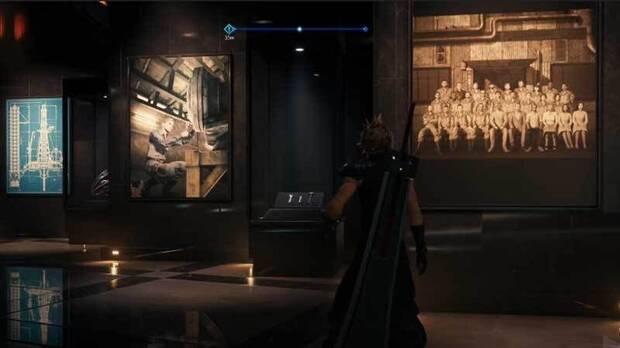 Shinra Museum de Final Fantasy VII Remake.