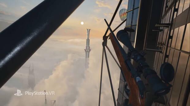 Captura de Hitman 3 en VR.