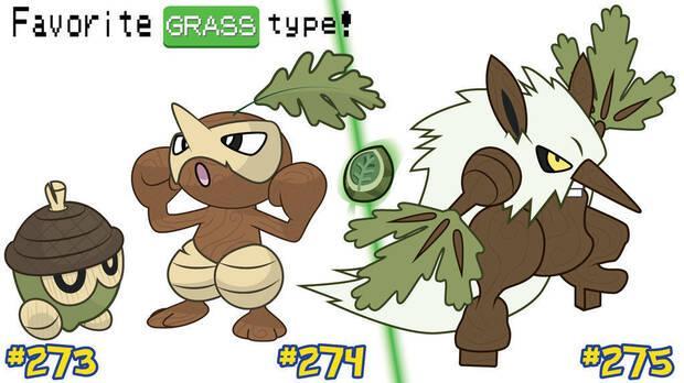 Seedot, Nuzleaf y Shiftry Pokémon GO