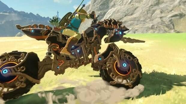 Diseña a tamaño real la moto de The Legend of Zelda con Nintendo Labo Imagen 2