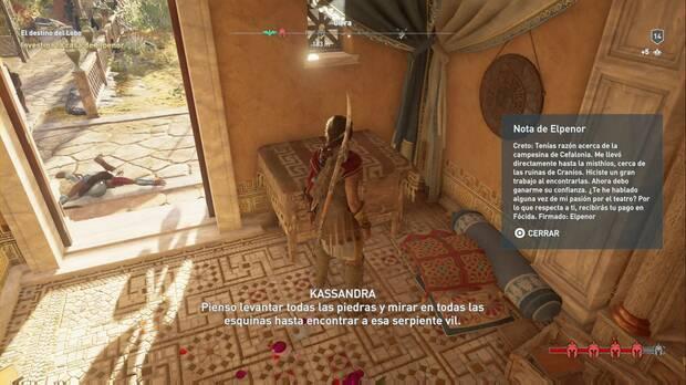 Assassin's Creed Odyssey - El destino del Lobo: investiga la casa