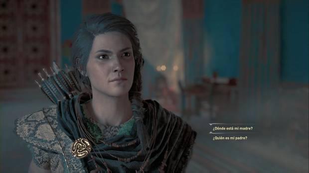 Assassin's Creed Odyssey - Preguntar a un fantasma: escoge tu pregunta