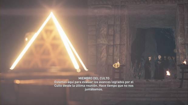 Assassin's Creed Odyssey - La guarida de la serpiente: Kassandra se cuela en la reunión del culto de Kosmos