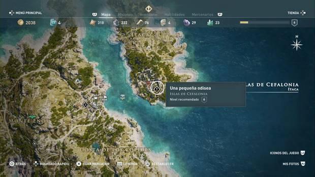 Assassin's Creed Odyssey - Una pequeña odisea: localización