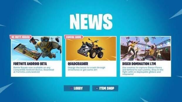 Fortnite añadirá un nuevo vehículo, Quadcrasher Imagen 2