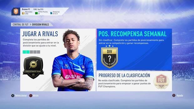 FIFA 19 - Division Rivals
