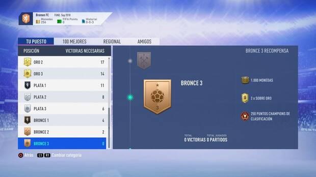 FIFA 19 Premios - Bronce 3