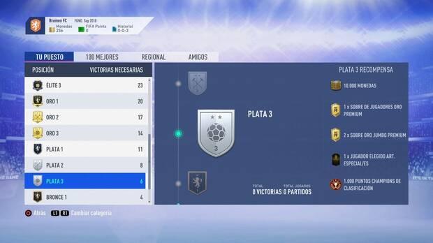 FIFA 19 Premios - Plata 3