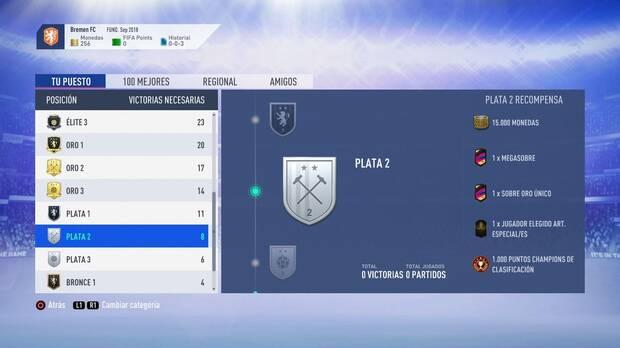 FIFA 19 Premios - Plata 2