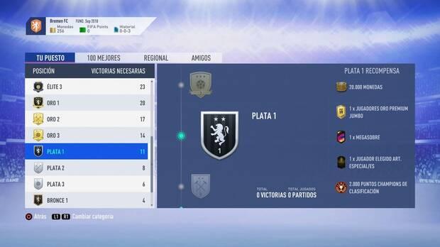 FIFA 19 Premios - Plata 1