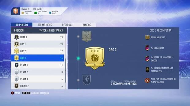 FIFA 19 Premios - Oro 3