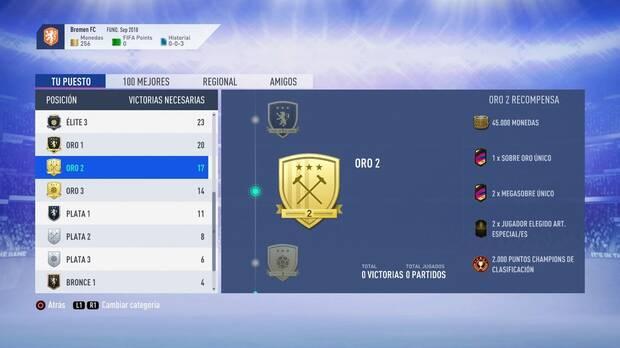 FIFA 19 Premios - Oro 2