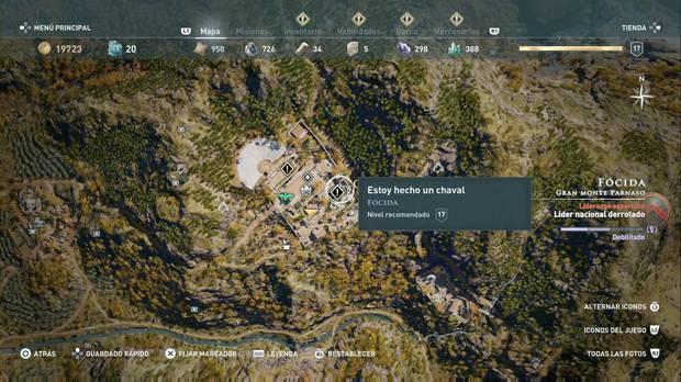 Assassin's Creed Odyssey - Estoy hecho un chaval: localización