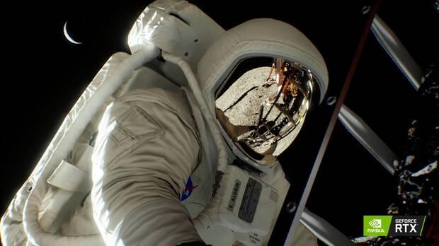 Recrean la llegada del hombre a la Luna gracias a las tarjetas GeForce RTX Imagen 2