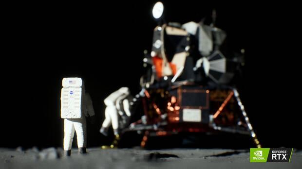 Recrean la llegada del hombre a la Luna gracias a las tarjetas GeForce RTX Imagen 3