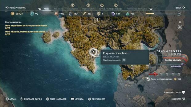 Assassin's Creed Odyssey - El que nace esclavo... localización