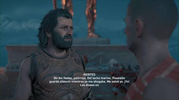 Assassin's Creed Odyssey - El petirrojo y el martín pescador: Nerites y Agapio