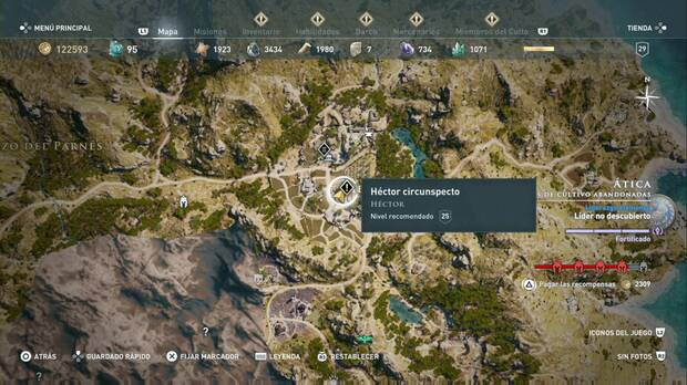 Assassin's Creed Odyssey - Héctor circunspecto: localización