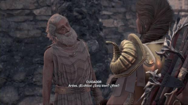 Assassin's Creed Odyssey - De minotauros y hombres: el cuidados se preocupa por Ardos