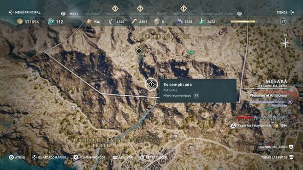 Assassin's Creed Odyssey - Es complicado: localización