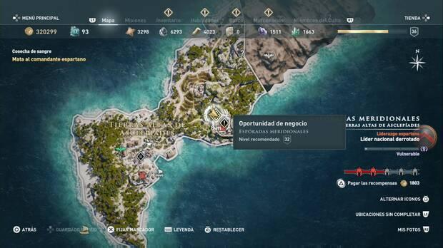 Assassin's Creed Odyssey - Oportunidad de negocio: localización
