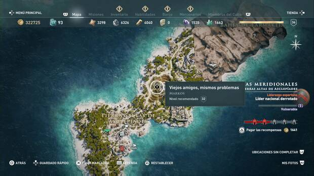 Assassin's Creed Odyssey - Viejos amigos, mismos problemas: localización