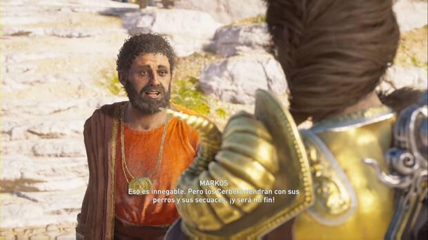 Assassin's Creed Odyssey - Viejos amigos, mismos problemas: Markos suplica nuestra ayuda