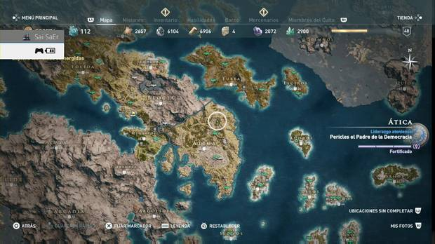 Assassin's Creed Odyssey - Ática
