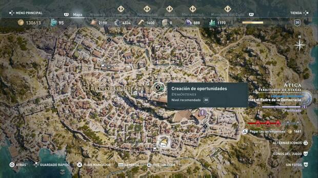 Assassin's Creed Odyssey - Creación de oportunidades: localización