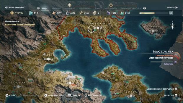 Assassin's Creed Odyssey - Islas Abantis